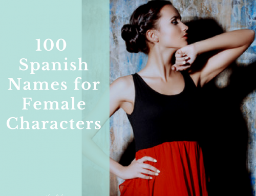 100 Spanish Names for Female Characters